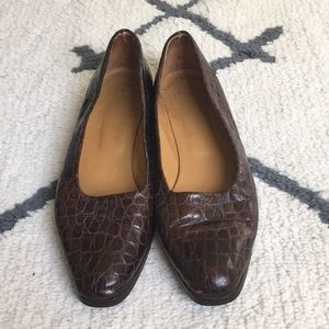 ITALY LOAFER- GREAT QUALITY BROWN LEATHER